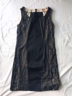 Black lace glamour PETITE DRESS