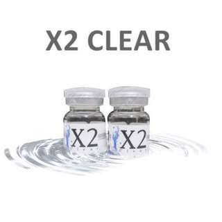 SOFTLENS X2 CLEAR By EXOTICON