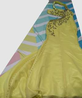 Mermaid cut gown with train (2 layers of lining)