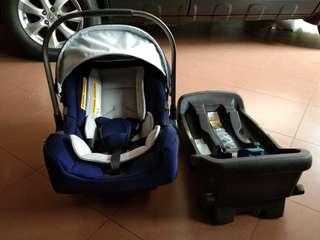 NUNA Pipa Baby Carseat + Base