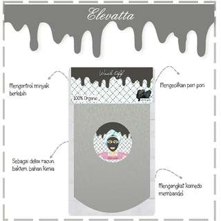 Masker Organik 100% bahan alami (NEW)