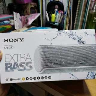 [全新 從未開封!] SONY 藍牙喇叭 Wireless Speaker Bluetooth Extra Bass SRS-XB21