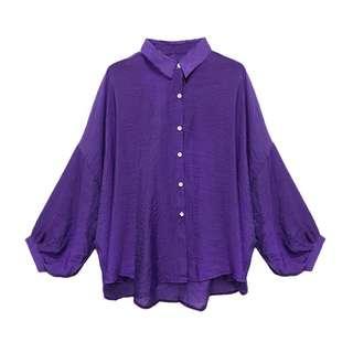 🚚 《全新》紫色罩衫