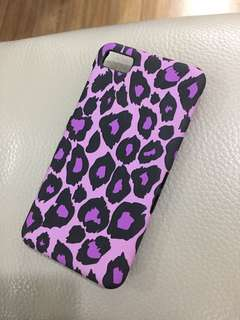 iPhone 5/5s matte hard case (animal print)