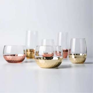 Rose Gold Drinking Glasses