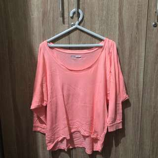 [FOREVER 21 Active] Pink Crop Workout Top