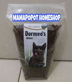 Dry Food DORMEOS KITTEN 900gr - Makanan kucing sekelas Royal Canin