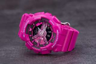 Medium Sized Gshock Hot Pink Casio Watch GMAS110MP Series with FREE DELIVERY 100% Authentic with Full Set