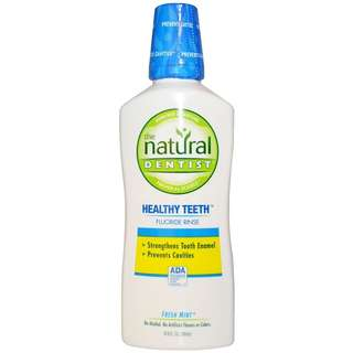 Natural Dentist, Healthy Teeth Fluoride Rinse, Fresh Mint, 16.9 fl oz (500 ml)