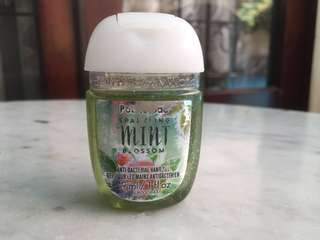 *PRELOVED* Bath and Body Works Hand Sanitizer Sparkling Mint Blossom #maudecay