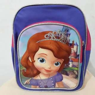 Disney Sofia The First Mini Backpack (100% Original)
