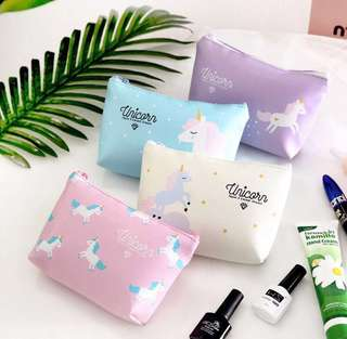 New! FREE mailing! Unicorn makeup pouch