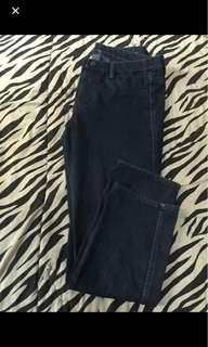 uniqlo legging denim jeans