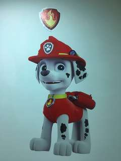🚚 Paw Patrol 80cm figurine wallpaper /wall sticker