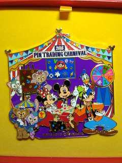 Jumbo Disney pin 迪士尼襟章 徽章