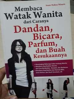 Buku mengerti wanita 😎