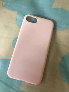 Soft pink iphone 7 case