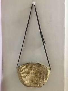 Rattan bag from BKK