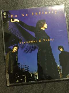 Do As Infinity ~ Yesterday & Today CD