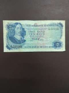 South africa 2 Rands 1970s