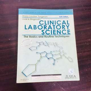 Linne & Ringsrud's Clinical Laboratory Science book