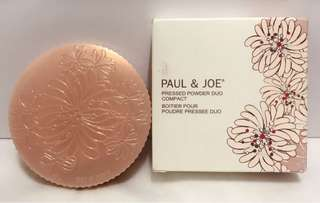 Paul&Joe 糖瓷光霧蜜粉餅盒 空盒