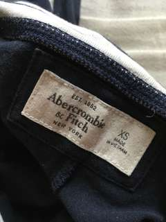 Abercrombie & Fitch Navy Leggings