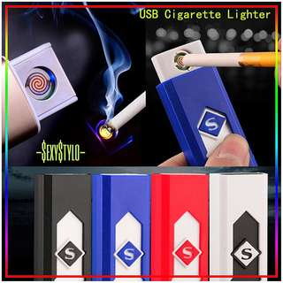 🚚 #56▪📦▪(🅿re🅾rder)▪📦▪eEco-friendly USB Lighter Rechargeable Flameless Cigar Cigarette Tobacco Electronic Charging Lighter No Gas Cigarro Tabaco Isqueiro Cigarette le tabacy Plus léger Cigarrillo Tabaco Encendedor