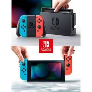 🚚 SALE BNIB LOCAL SET Nintendo Switch Console Neon