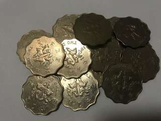 1997年 香港回歸 特別版 二元 硬幣