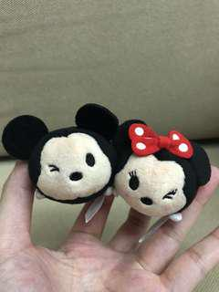 🚚 Mini XS Tsum Mickey Minnie Plush [In Stock]