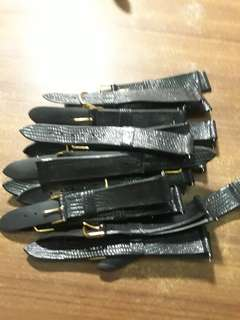Black Watch Strap 18mm(18pcs)per pcs$1