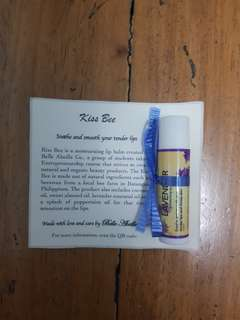 Kiss Bee Lavender Lip Balm