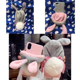 Iphone 7 Rabbit Ear Hat Cover