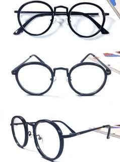 Kacamata Vintage Bulat