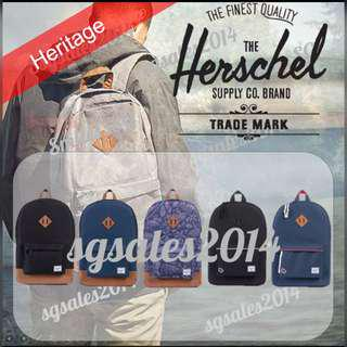 🚚 ✅[INSTOCK] 100% Authentic Herschel Heritage Backpack
