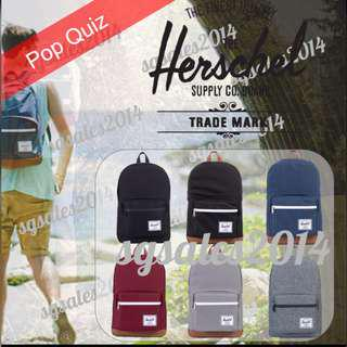 🚚 ✅INSTOCK Herschel Pop Quiz Backpack 22L
