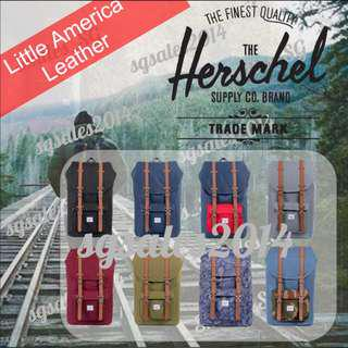 🚚 ✅[INSTOCK] 100% Authentic Herschel Little America - Mid & Full Volume