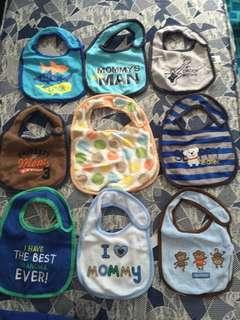 Assorted Branded Baby Bibs