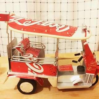 Coca-cola 可樂復古tuk tuk車
