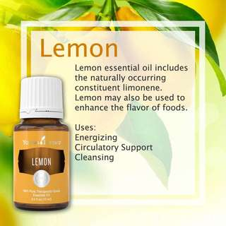 Young Living Essential Oil Lemon - 15ml
