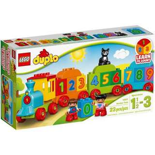 🆕 LEGO 10847 DUPLO My First Number Train