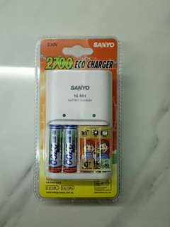 Rechargeable Batteries Charger (Ni-MH)