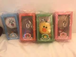 Line and friends Fifa Happy meal set