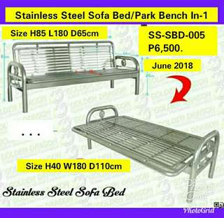 Stainless Sofabed