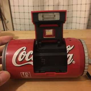 絕版Coca-cola可樂罐菲林相機