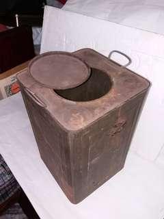 70年代絕版古舊鐵罐