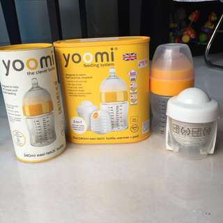 🚚 Brand new Yoomi feeding system and extra bottle