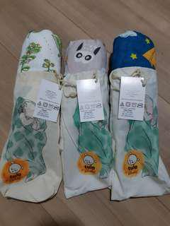Brand New & Unrolled Tula Baby Blankets