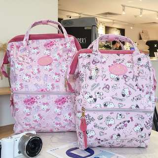 sanrio雙肩背包/電腦包/書包/媽媽包/手提包(kitty、美樂蒂Melody、達菲熊)$420~$520